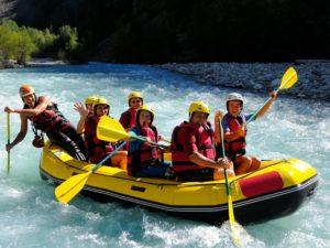 Семейный рафтинг по реке Пшеха